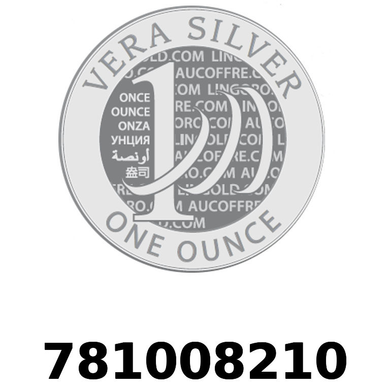 Réf. 781008210 Vera Silver 1 once (LSP)  2018 - AVERS