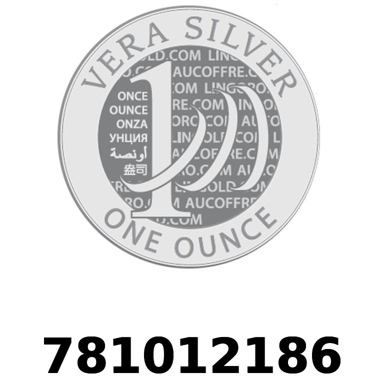 Réf. 781012186 Vera Silver 1 once (LSP)  2018 - AVERS