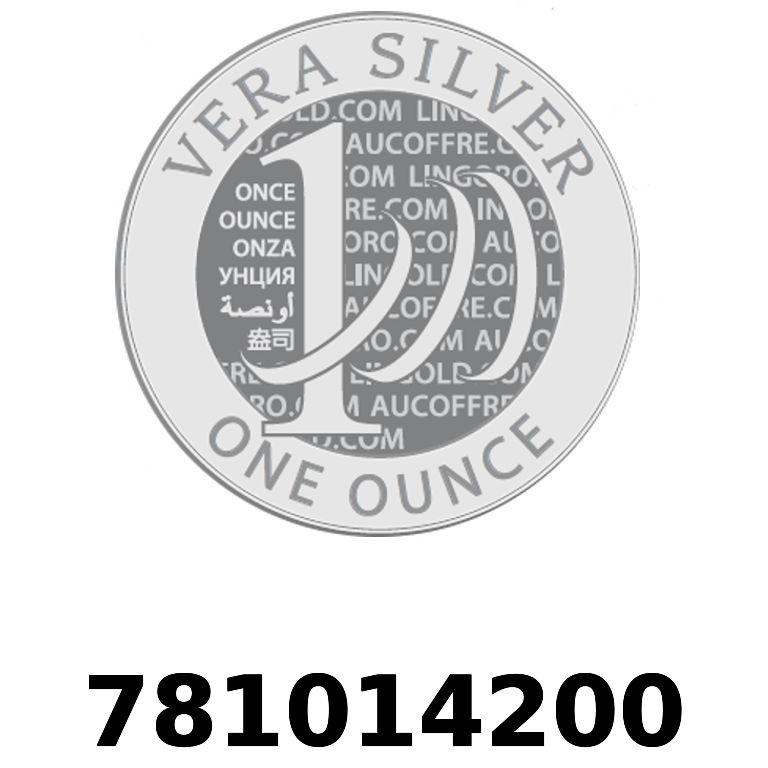 Réf. 781014200 Vera Silver 1 once (LSP)  2018 - AVERS