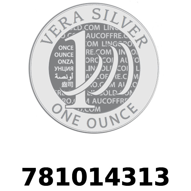 Réf. 781014313 Vera Silver 1 once (LSP)  2018 - AVERS