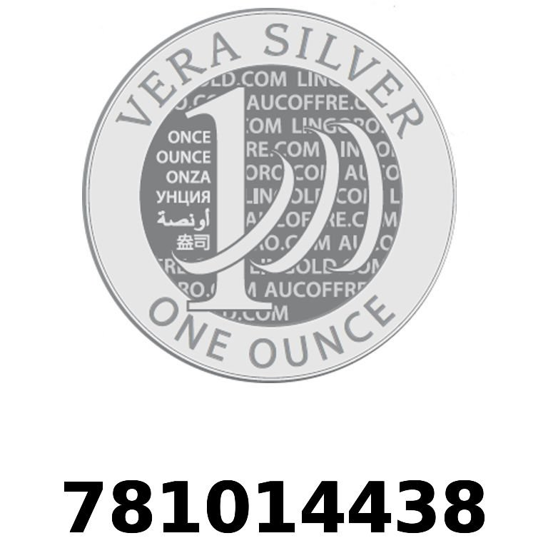 Réf. 781014438 Vera Silver 1 once (LSP)  2018 - AVERS