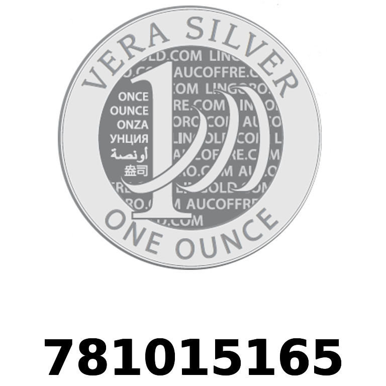 Réf. 781015165 Vera Silver 1 once (LSP)  2018 - AVERS