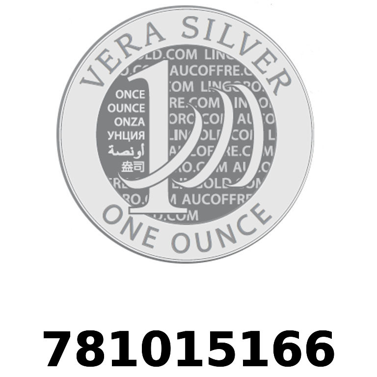 Réf. 781015166 Vera Silver 1 once (LSP)  2018 - AVERS