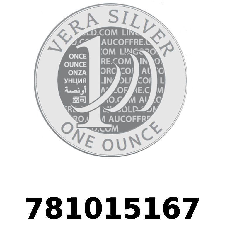 Réf. 781015167 Vera Silver 1 once (LSP)  2018 - AVERS