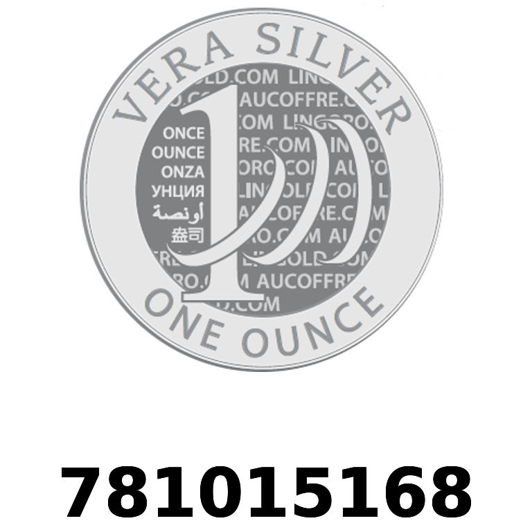 Réf. 781015168 Vera Silver 1 once (LSP)  2018 - AVERS