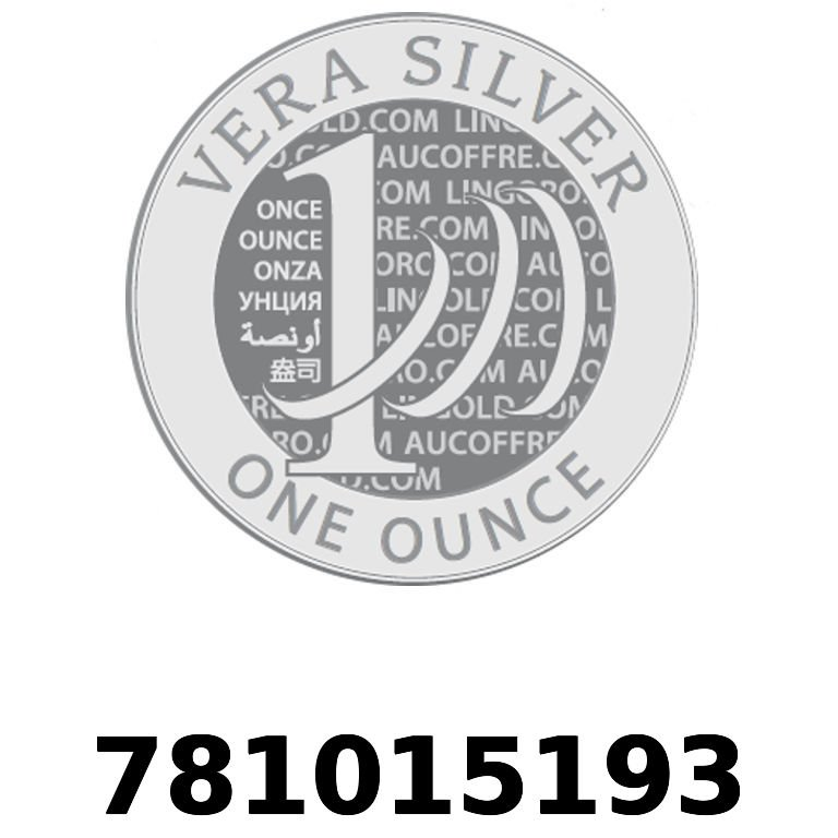 Réf. 781015193 Vera Silver 1 once (LSP)  2018 - AVERS