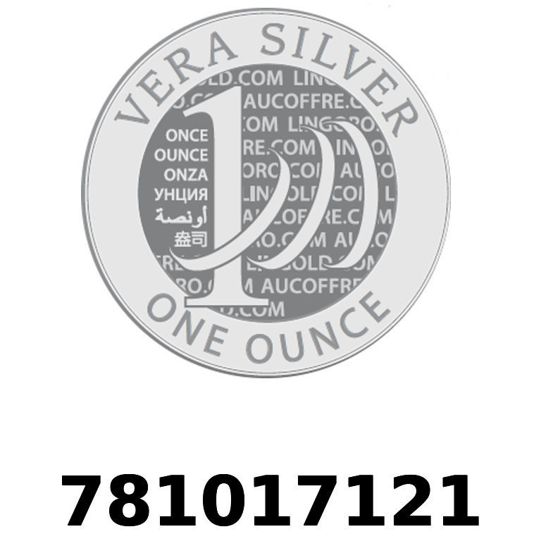 Réf. 781017121 Vera Silver 1 once (LSP)  2018 - AVERS