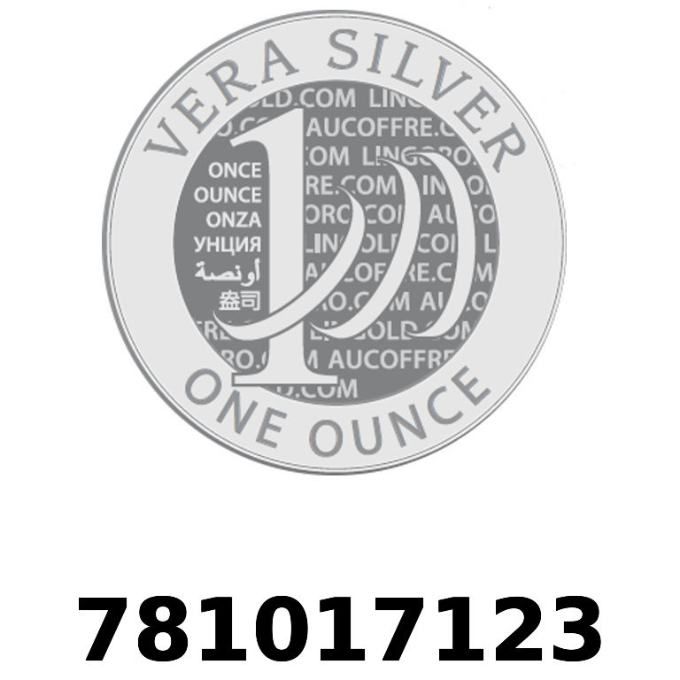 Réf. 781017123 Vera Silver 1 once (LSP)  2018 - AVERS