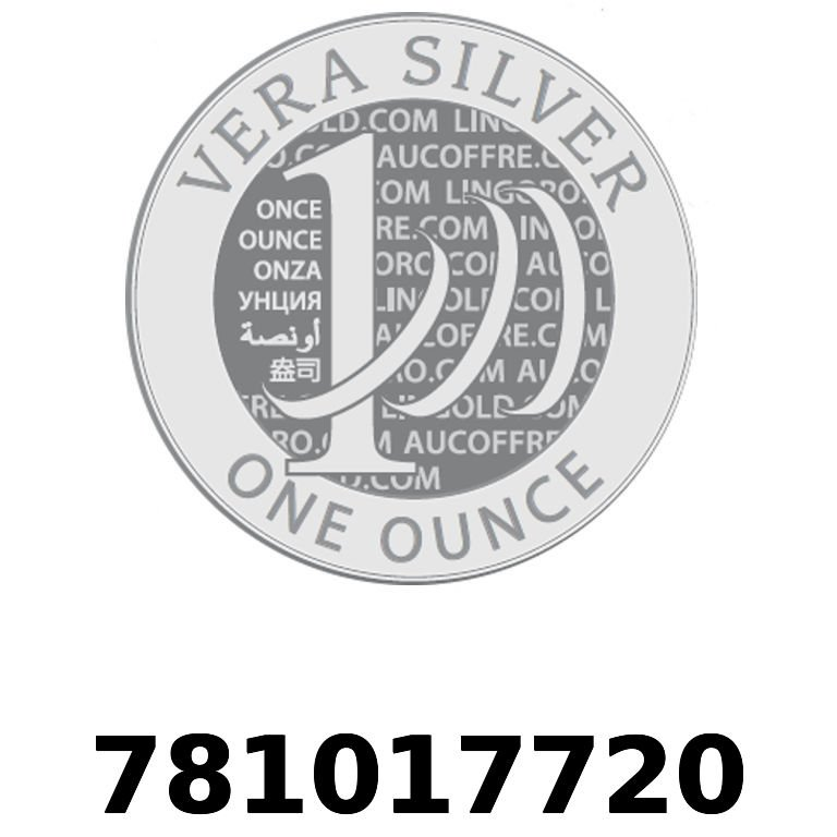 Réf. 781017720 Vera Silver 1 once (LSP)  2018 - AVERS