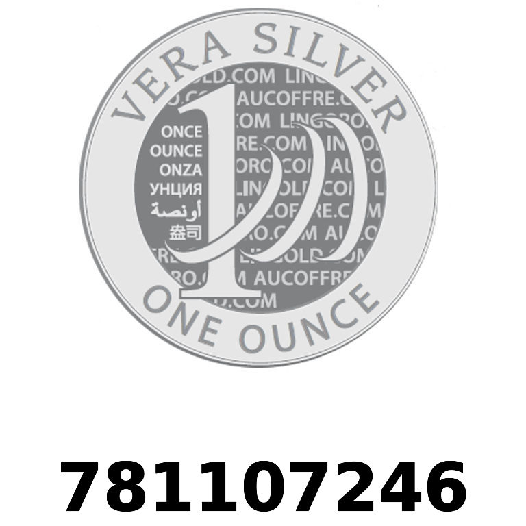 Réf. 781107246 Vera Silver 1 once (LSP)  2018 - AVERS