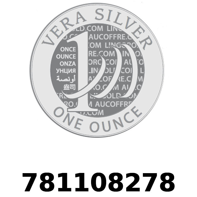Réf. 781108278 Vera Silver 1 once (LSP - 40MM)  2018 - AVERS