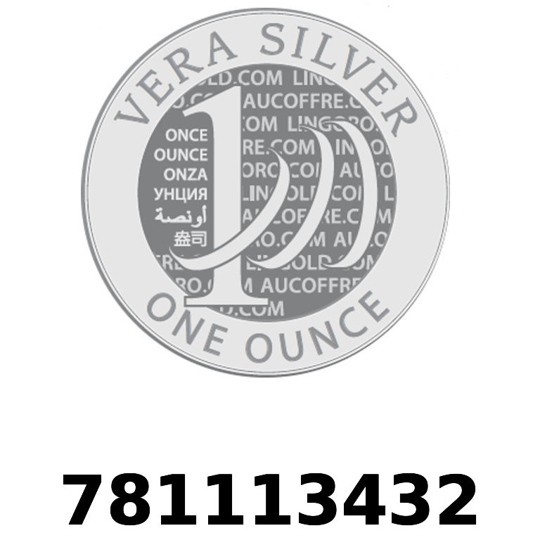Réf. 781113432 Vera Silver 1 once (LSP)  2018 - AVERS