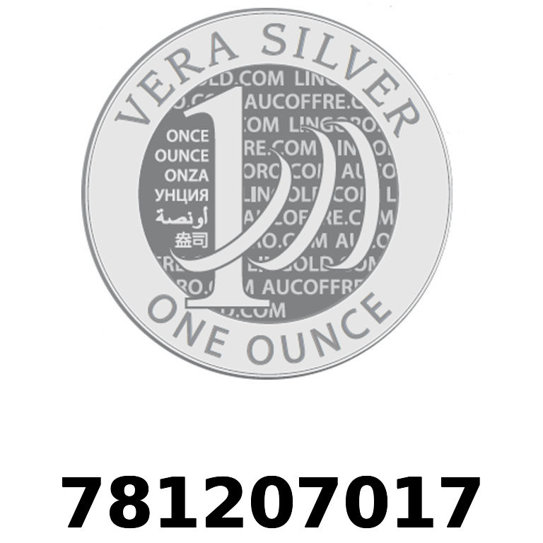 Réf. 781207017 Vera Silver 1 once (LSP)  2018 - AVERS