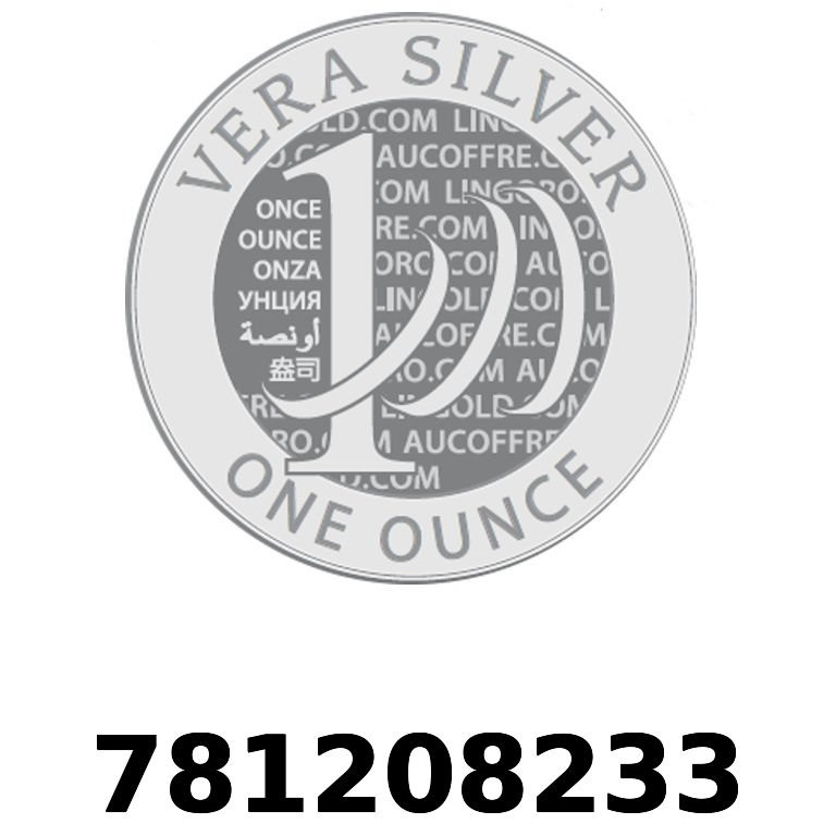 Réf. 781208233 Vera Silver 1 once (LSP)  2018 - AVERS