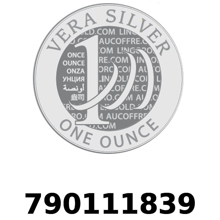 Réf. 790111839 Vera Silver 1 once (LSP)  2018 - AVERS