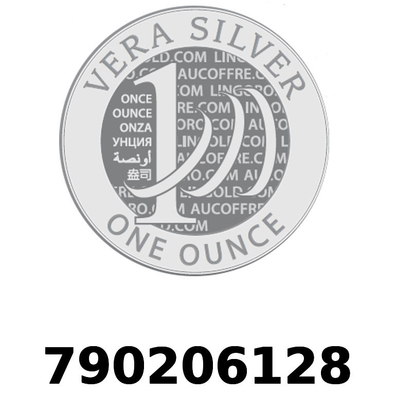 Réf. 790206128 Vera Silver 1 once (LSP)  2018 - AVERS