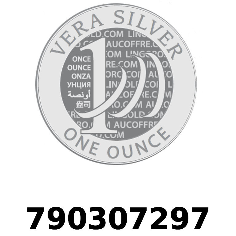 Réf. 790307297 Vera Silver 1 once (LSP)  2018 - AVERS