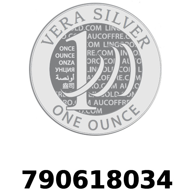 Réf. 790618034 Vera Silver 1 once (LSP - 40MM)  2018 - AVERS