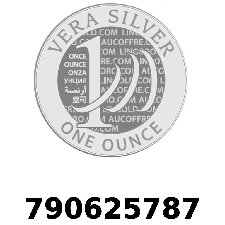 Réf. 790625787 Vera Silver 1 once (LSP - 40MM)  2018 - AVERS