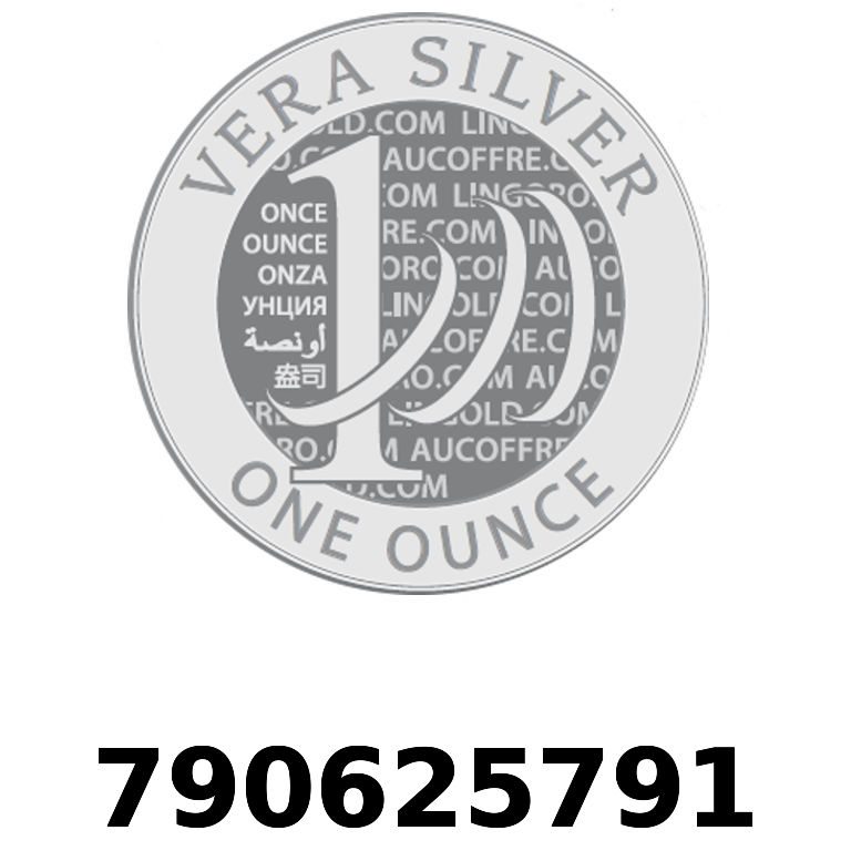 Réf. 790625791 Vera Silver 1 once (LSP - 40MM)  2018 - AVERS