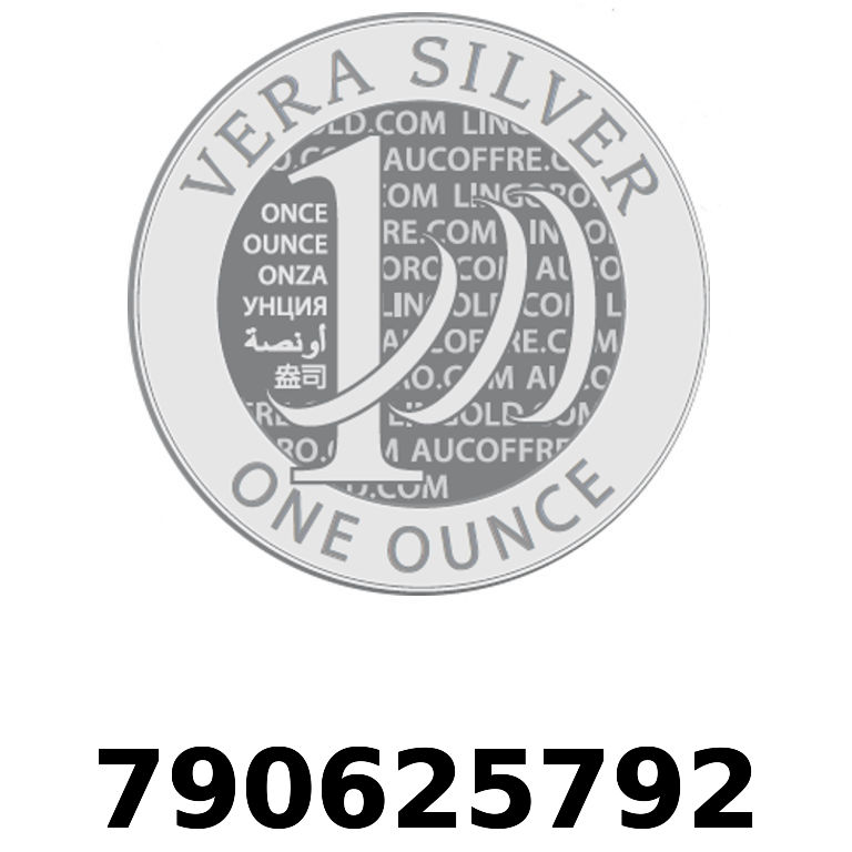 Réf. 790625792 Vera Silver 1 once (LSP - 40MM)  2018 - AVERS