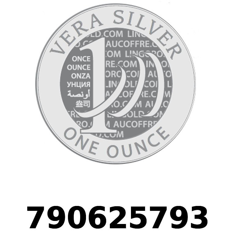 Réf. 790625793 Vera Silver 1 once (LSP - 40MM)  2018 - AVERS