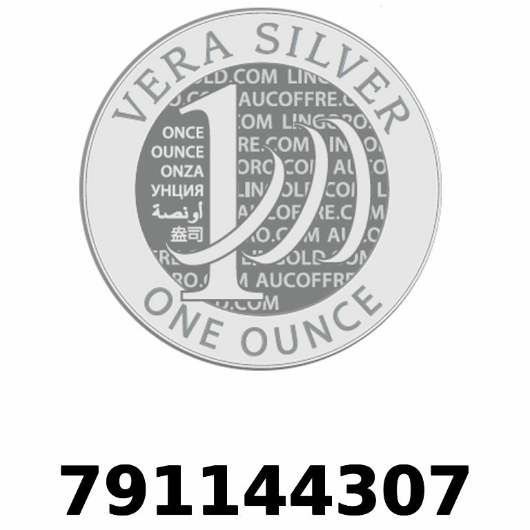 Réf. 791144307 Vera Silver 1 once (LSP - 40MM)  2018 - AVERS