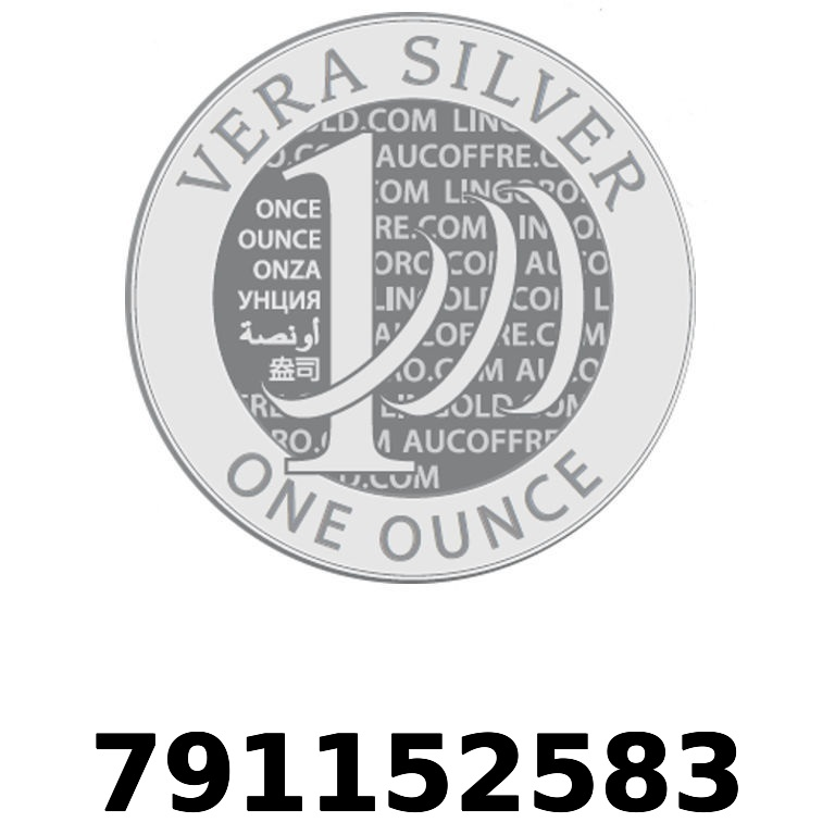 Réf. 791152583 Vera Silver 1 once (LSP - 40MM)  2018 - AVERS