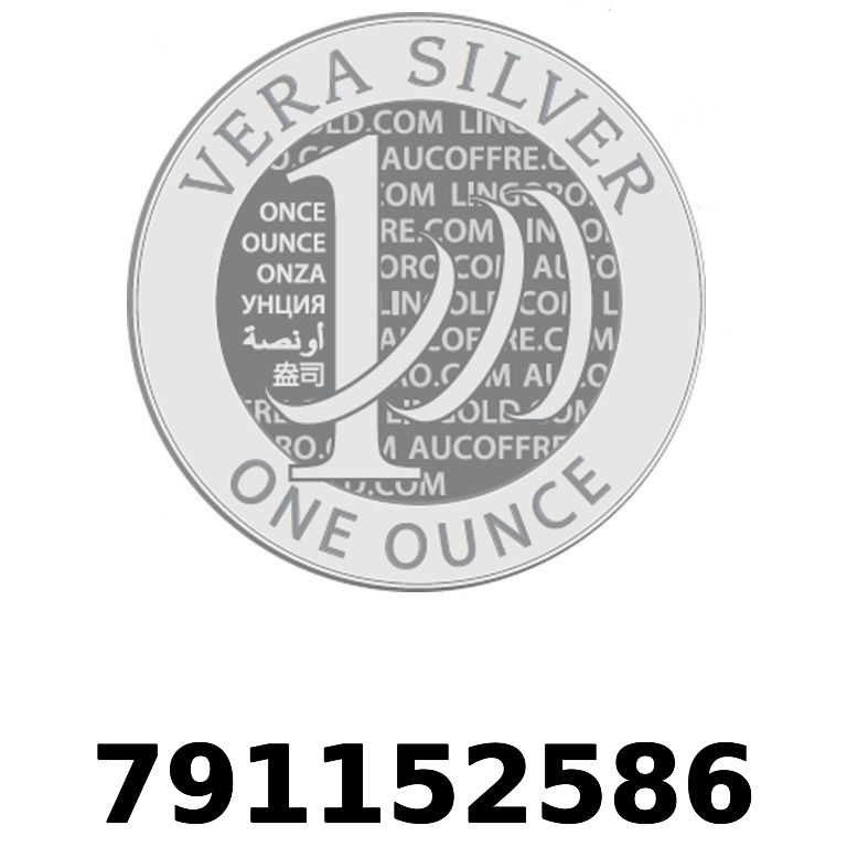 Réf. 791152586 Vera Silver 1 once (LSP - 40MM)  2018 - AVERS