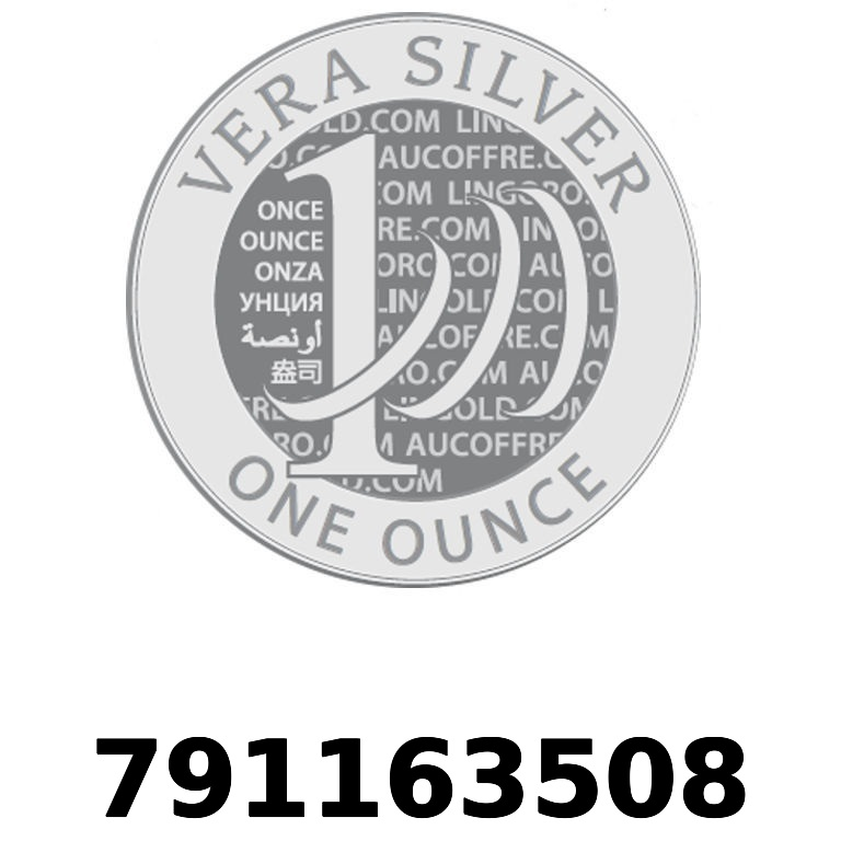 Réf. 791163508 Vera Silver 1 once (LSP - 40MM)  2018 - AVERS