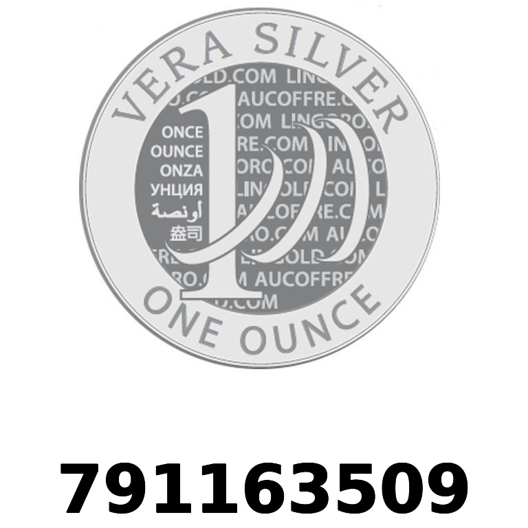 Réf. 791163509 Vera Silver 1 once (LSP - 40MM)  2018 - AVERS