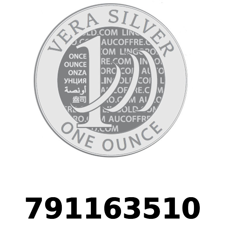 Réf. 791163510 Vera Silver 1 once (LSP - 40MM)  2018 - AVERS