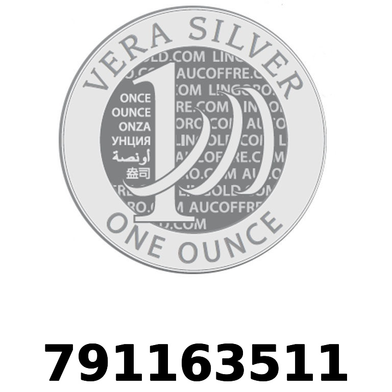 Réf. 791163511 Vera Silver 1 once (LSP - 40MM)  2018 - AVERS