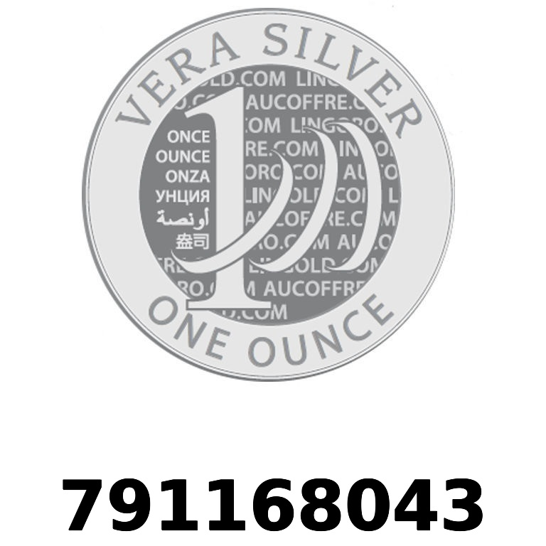 Réf. 791168043 Vera Silver 1 once (LSP - 40MM)  2018 - AVERS