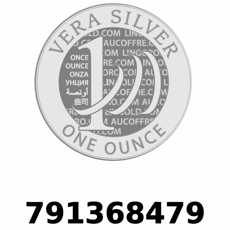 Réf. 791368479 Vera Silver 1 once (LSP - 40MM)  2018 - AVERS