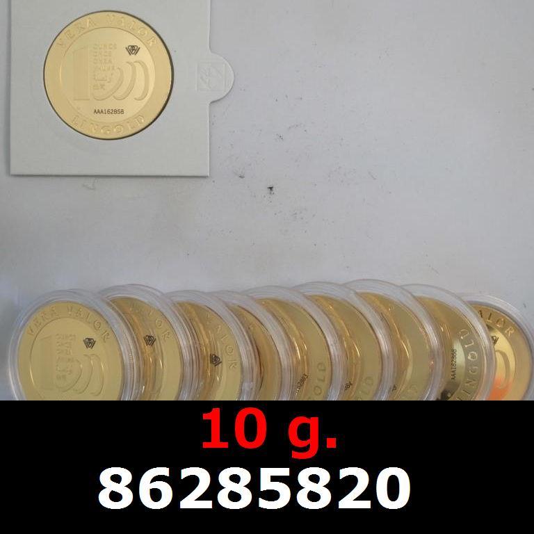 Réf. 86285820 10 grammes d\'or pur - Vera Valor (LSP)  Issu d un lot de 10 Vera Valor 1 once - AVERS