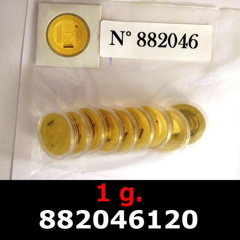 Réf. 882046120 1 gramme d\'or pur - Vera Valor (LSP)  Issu d un lot de 10 Vera Valor 1 once - AVERS