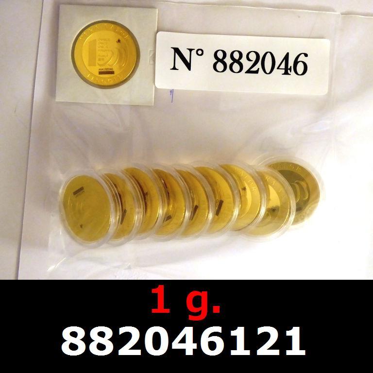 Réf. 882046121 1 gramme d\'or pur - Vera Valor (LSP)  Issu d un lot de 10 Vera Valor 1 once - AVERS