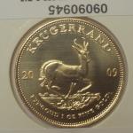 Réf. 09090945 Krugerrand 1 once  - REVERS