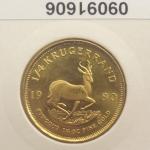 Réf. 09091606 Krugerrand 1/4 once  - REVERS