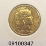 Réf. 09100347 Napoléon 20 Francs Marianne Coq - Liberté Egalité Fraternité - REVERS