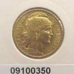 Réf. 09100350 Napoléon 20 Francs Marianne Coq - Liberté Egalité Fraternité - REVERS