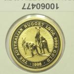 Réf. 10060477 Australian Nugget 1/2 once 50 Dollars Kangourou 1998 - REVERS