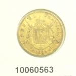 Réf. 10060563 Napoléon 20F  Napoléon III Tête Laurée - REVERS