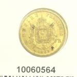 Réf. 10060564 Napoléon 20F  Napoléon III Tête Laurée - REVERS