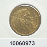 Union Latine  Leopold II - 20 Francs - Belgique