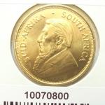 Réf. 10070800 Krugerrand 1 once  - REVERS