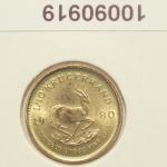 Réf. 10090919 Krugerrand 1/10 once  - REVERS
