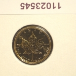 Réf. 11023545 Maple Leaf 1/10 once 5 Dollars Canada Elizabeth II - 9999 - REVERS