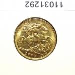 Réf. 11031292 Demi-Souverain  Edward VII - REVERS